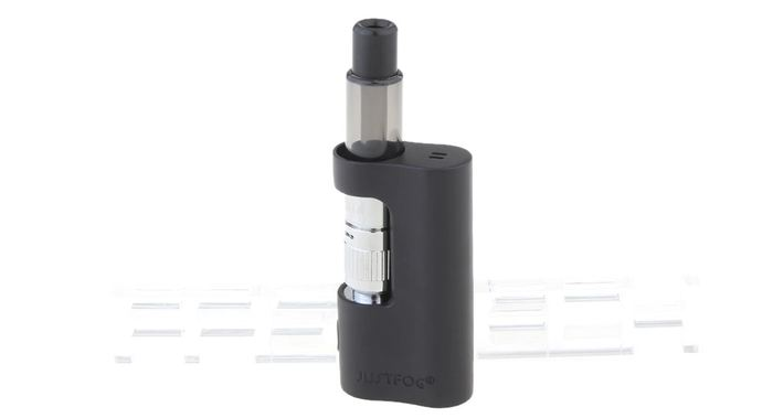 La P14A de Justfog est un kit pour débutant de cigarette électronique à moins de 20 dollars.