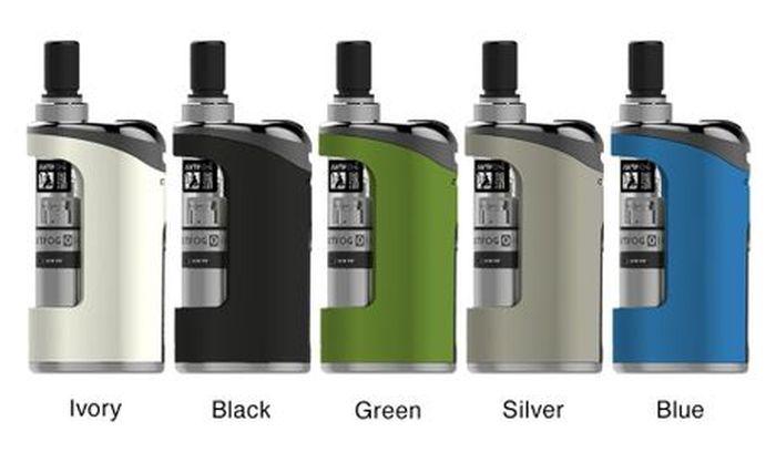 JUSTFOG nous propose un kit pour débutants avec son JUSTFOG Compact 14 en 1500 mAh. Un clearomiseur Q14 qui peut supporter de fortes doses de nicotine.