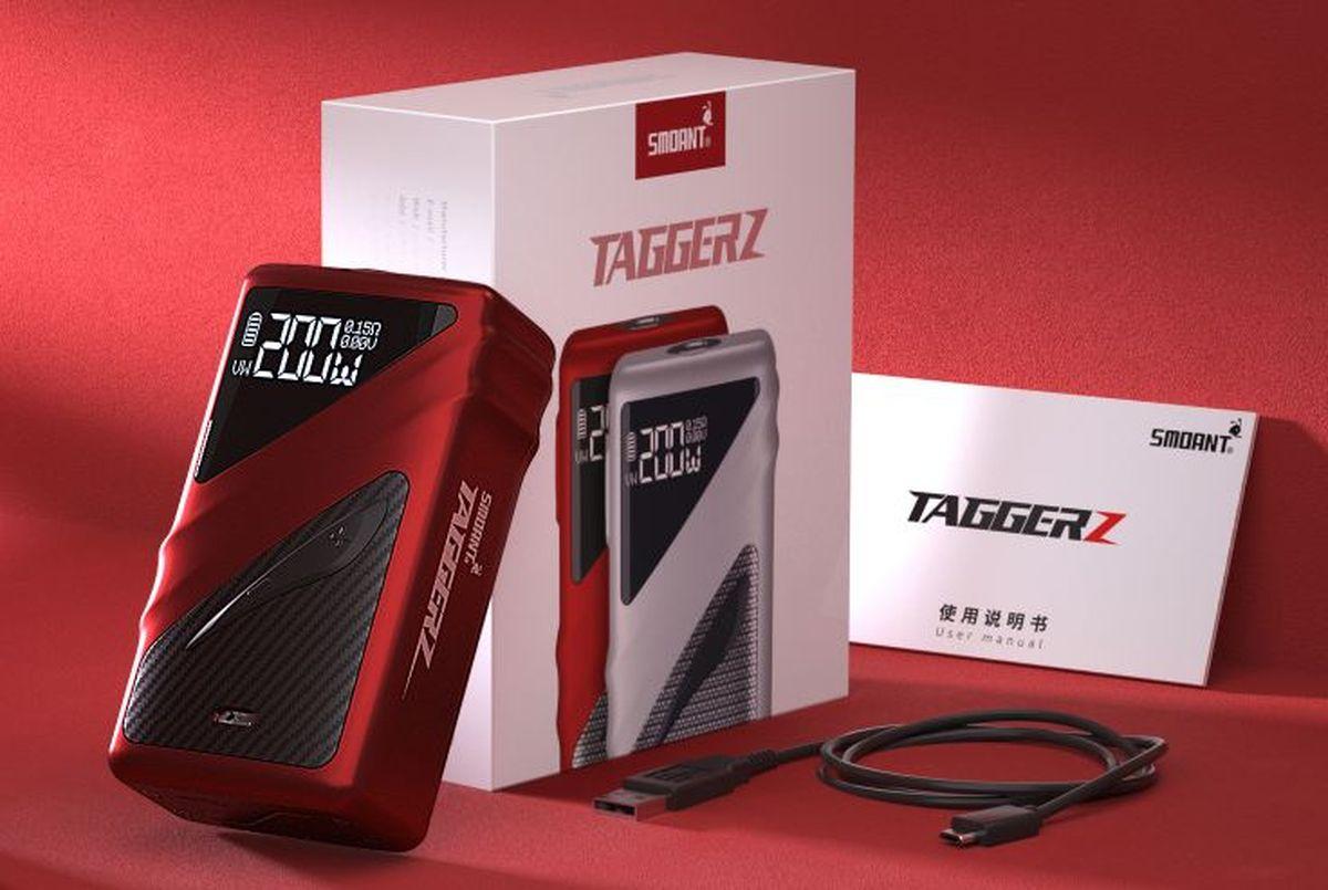 Avec le Smoant Taggerz, la marque nous montre une Box ultra-légère et des atomiseurs jetables. Intrigué ? Moi aussi.