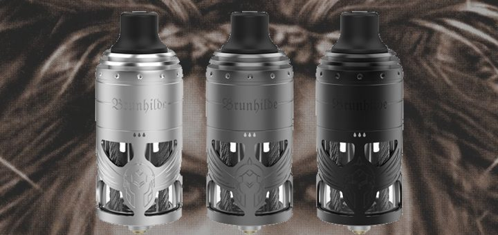 Vapefly give us its Brunhilde MTL for those who like the indirect vape. Top Coiler fans will be delighted.