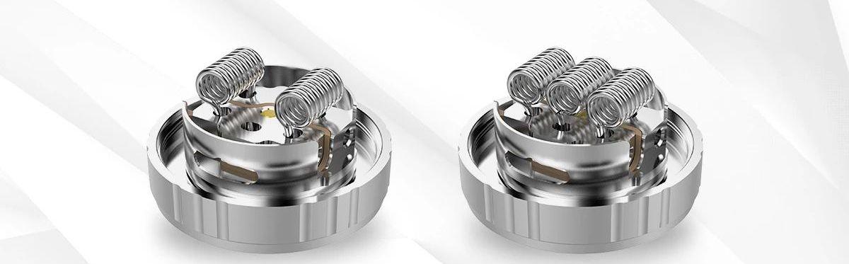 L'Aries 30 de G-Taste montre qu'on peut toujours atteindre des sommets. Un RTA avec 10 ml de capacité et qui peut supporter des Triple coils.