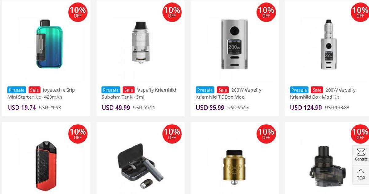 BuyBest est un site chinois qui propose des cigarettes électroniques et du matos de vape pour les débutants et expérimentés. Vaut-il le coup ?