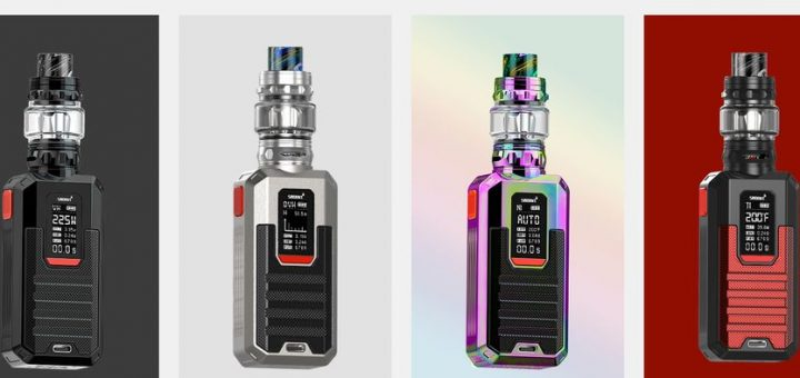 The Smoant Ladon makes us dream of beauty and versatility with its superb mod and its tank with its RBA which supports coils and mesh.