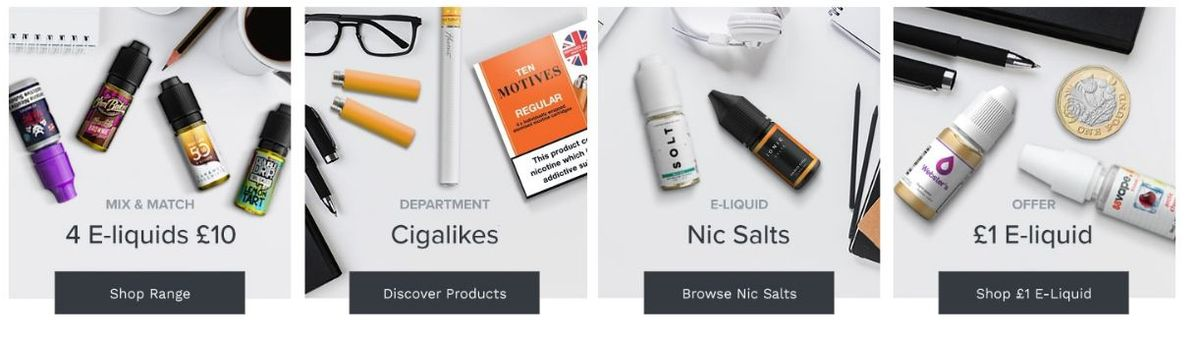 Some of the best online vape shops that I find in my research. To find cheap mods, liquids, and other stuff.