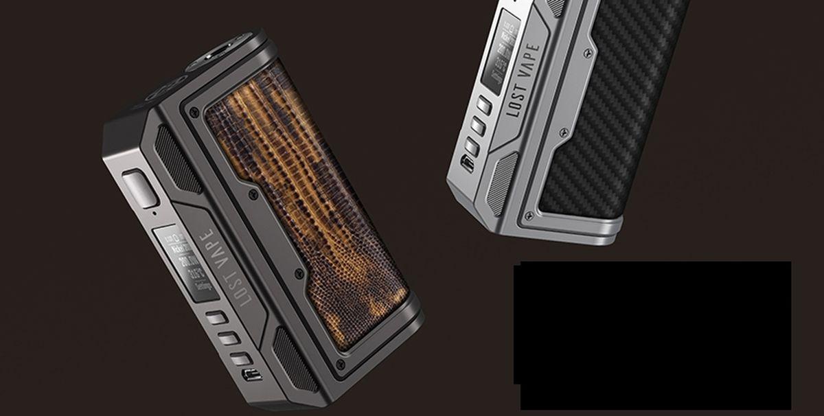 Lost Vape nous balance une nouvelle box avec le chipset DNA. Est-ce que la Thelema DNA250C vaut le coup ou que le design est trop similaire aux autres box Lost Vape.