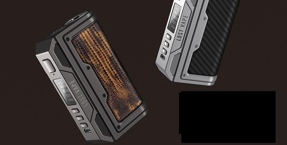 Lost Vape is throwing us a new box with the DNA chipset. Is the Thelema DNA250C worth it or is the design too similar to other Lost Vape boxes.