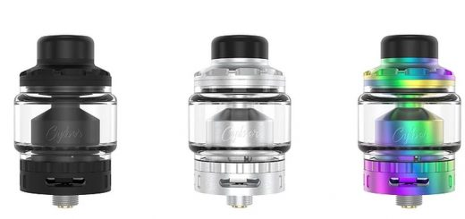 The Cyber RTA ​​from Gas Mods offers us a single coil atomizer all that is more standard except on how to configure the airflows.