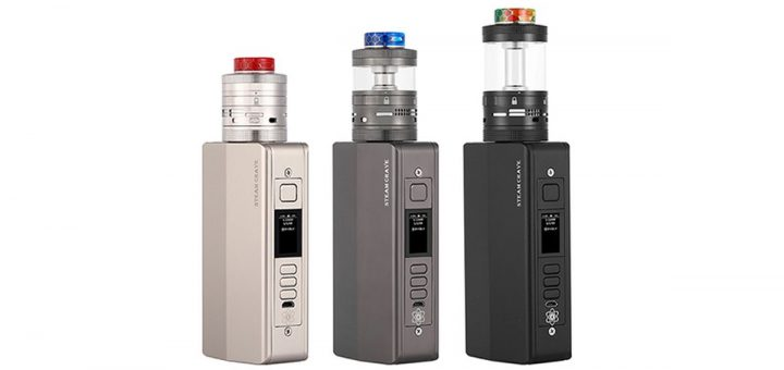 The Hadron Pro DNA250C kit includes the DNA chipset and a 1600 mAh x 4 LiPo battery. A real powerhouse, but beware of the risks!
