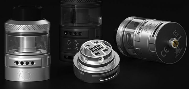 Hellvape announces the Fat Rabbit RTA, but in reality he shamelessly stole the design of an RTA that was created by Vaping with Vic. The Chinese will remain Chinese.